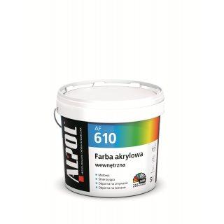 ALPOL Farba akrylowa wew. BAZA B1 AF610 5l