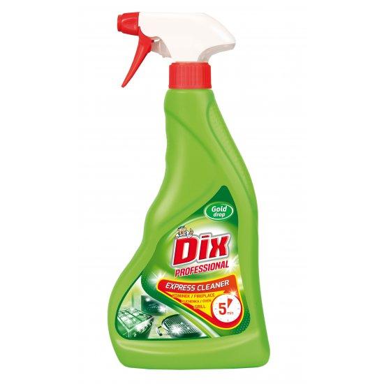 Płyn do czyszczenia grilli kominków 500 ml spray DIX