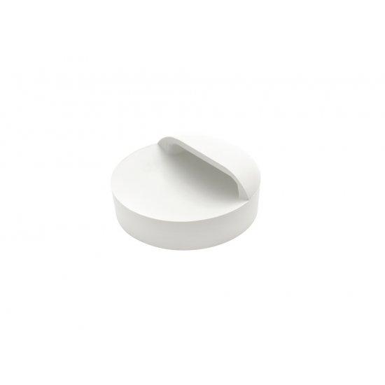 Korek syfonu umywalki biały TYCNER