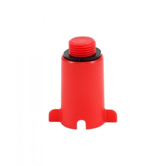 Korek do prób ciśnieniowych czerwony TYCNER