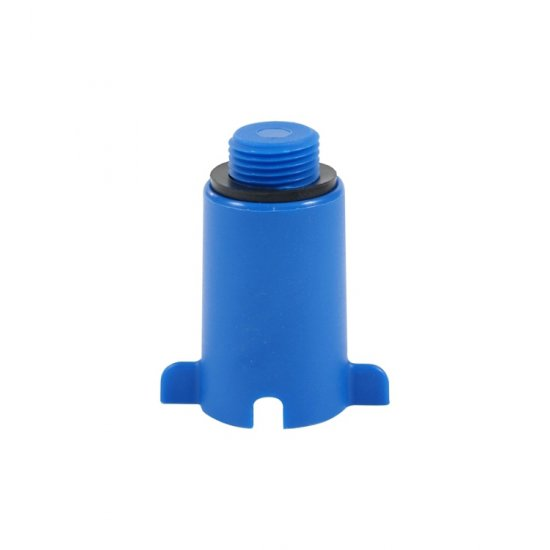 Korek do prób ciśnieniowych niebieski TYCNER