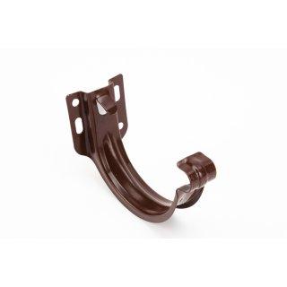 GALECO hak metalowy doczołowy PVC 110 ciemnobrązowy