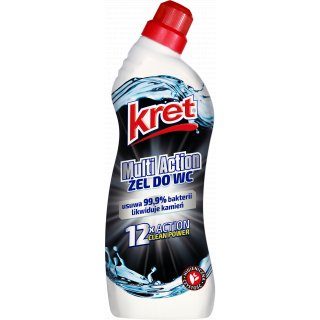 Żel do WC 750g Multiaction KRET