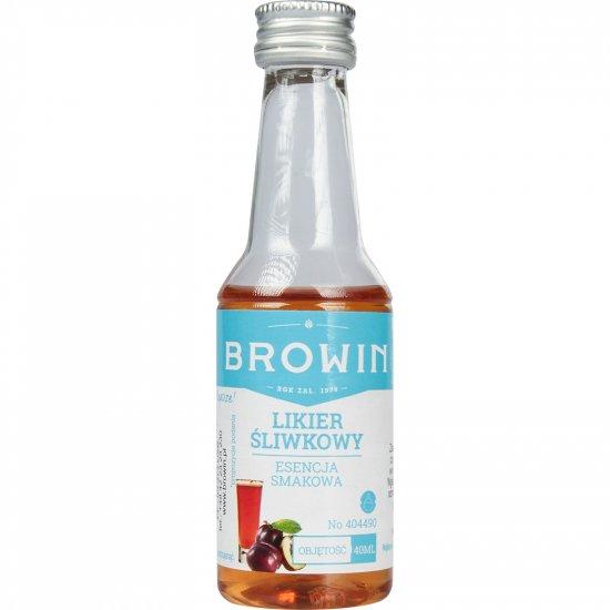 Esencja smakowa - Likier śliwkowy na 4L- 40 ml BROWIN