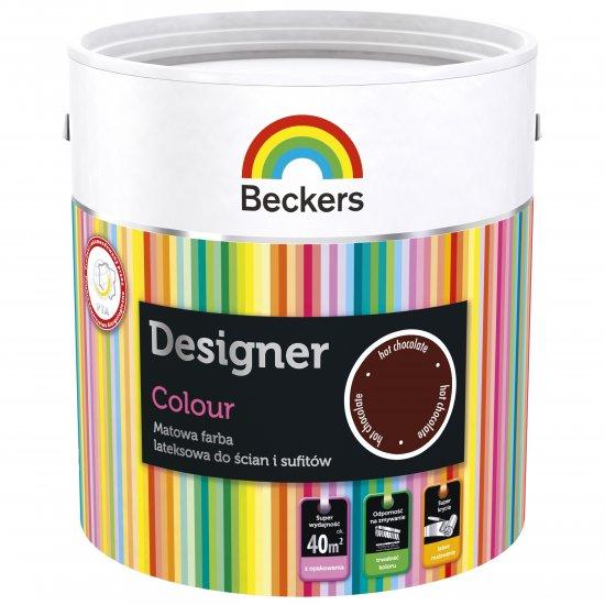 Farba lateksowa Designer 2,5L hotchocolate BECKERS TIKKURILA