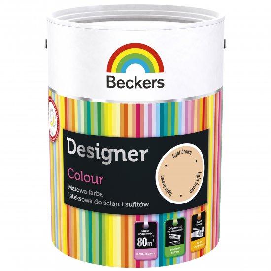 Farba lateksowa Designer 5L light brown BECKERS TIKKURILA