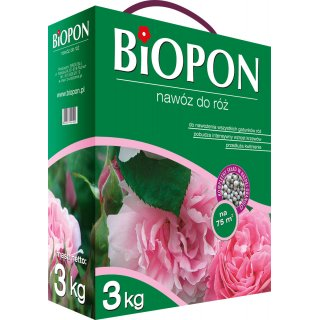 Nawóz do róż 3kg BIOPON