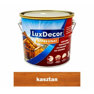 Imregnat do drewna Luxdecor kasztan 3l PRIMACOL