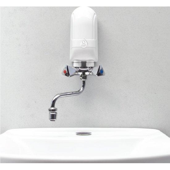 Przepływowy podgrzewacz wody z baterią metalową 5,5 kW DAFI