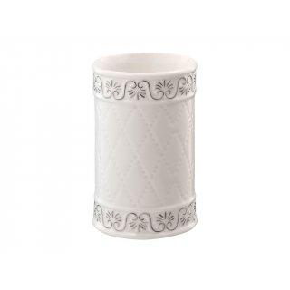 Kubek kosmetyczny Castello biały BISK