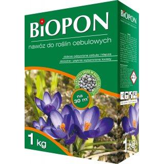Nawóz do roślin cebulowych 1kg BIOPON