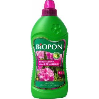 Nawóz do rododendronów, azalii i różaneczników 1l BIOPON