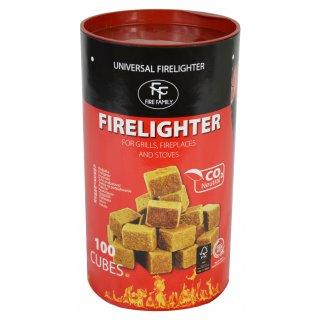 Podpałka Start&Fire 100 szt. kostek FIREFAMILLY