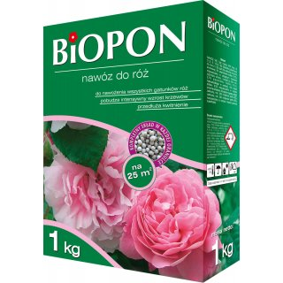 Nawóz do róż 1kg BIOPON