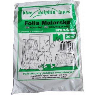 Folia ochronna malarska CF_04895 4x5m BLUEDOLPHIN