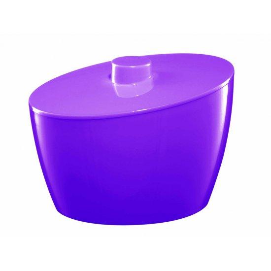 Pojemnik kosmetyczny fioletowy BISK