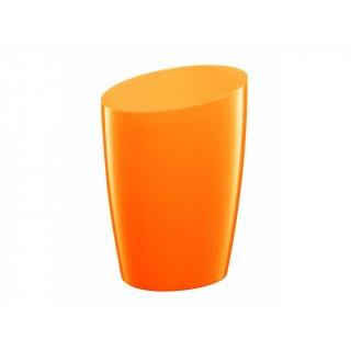 Kubek kosmetyczny pomarańczowy BISK