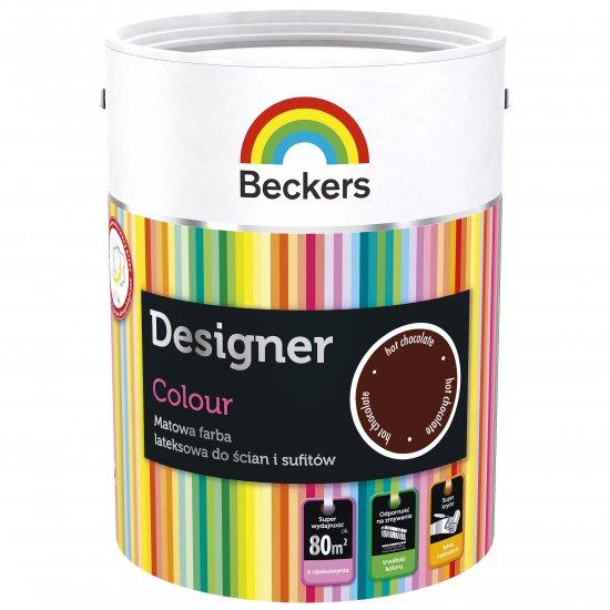 Farba lateksowa Designer 5L hotchocolate BECKERS TIKKURILA
