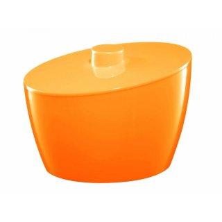 Pojemnik kosmetyczny pomarańczowy BISK
