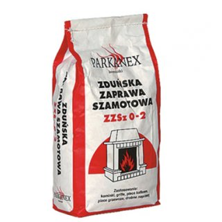 Zaprawa szamotowa 5kg PARKANEX