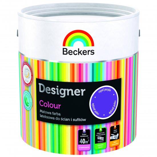 Farba lateksowa Designer 2,5L royal purple BECKERS TIKKURILA