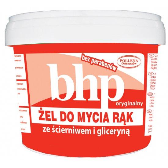 ŻEL BHP do mycia rąk z gliceryną i ścierniwem POLLENA