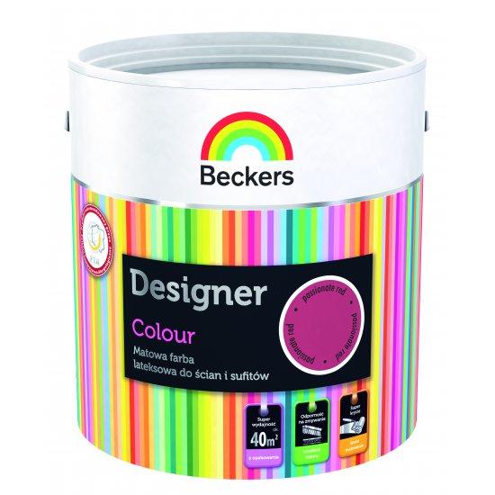 Farba lateksowa Designer 2,5L vivid pink BECKERS TIKKURILA