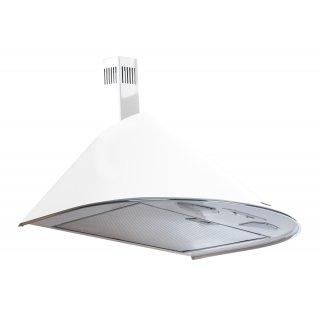 Okap kuchenny WK-5 Inox Rondo Turbo 50 cm biały AKPO