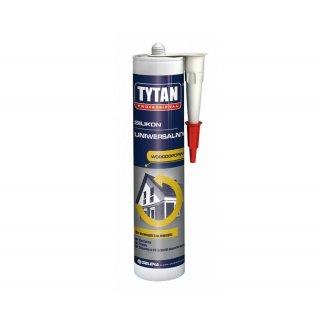 Silikon uniwersalny idealny uszczelniacz bezbarwny 310 ml TYTAN