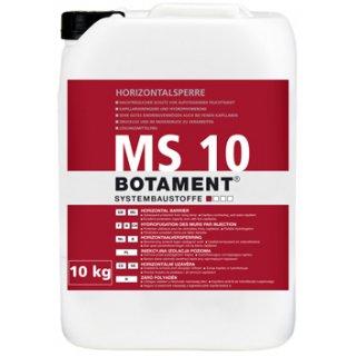 Botament MS 10 Iniekcyjna izolacja poziomowa 10kg