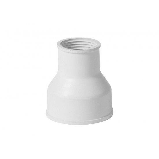 Lejek sedesowy dolnopłuka samozaciskowy biały TYCNER