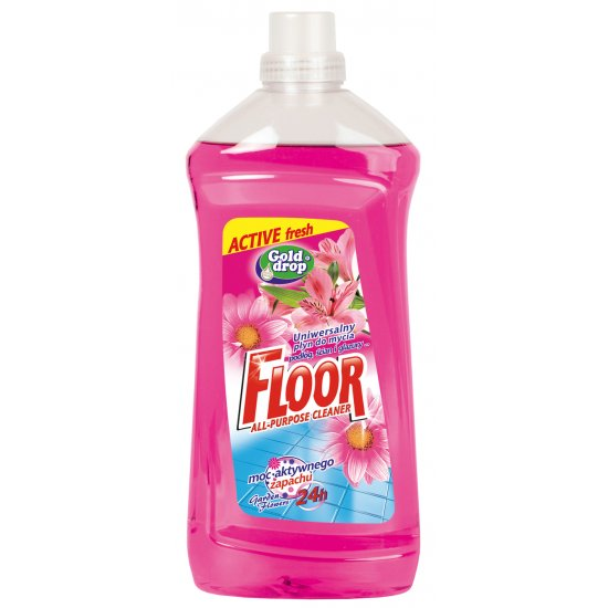 Uniwersalny płyn do mycia 1,5 L kwiaty ogrodów FLOOR