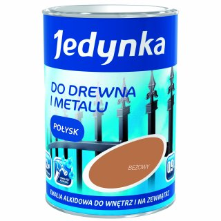 Farba do drewna i metalu Jedynka 0,9L beżowy TIKKURILA