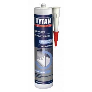 Silikon sanitarny idealny uszczelniacz bezbarwny 310 ml TYTAN