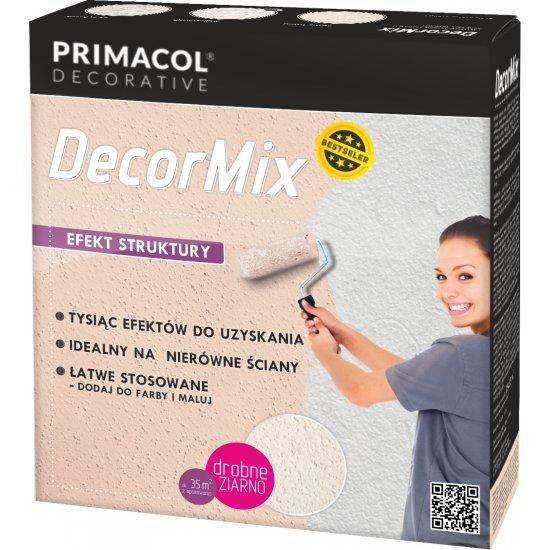 Decormix efekt struktury - drobne ziarno UNICELL