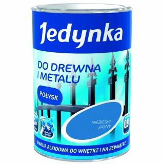 Farba do drewna i metalu Jedynka 0,9L niebieski jasny TIKKURILA