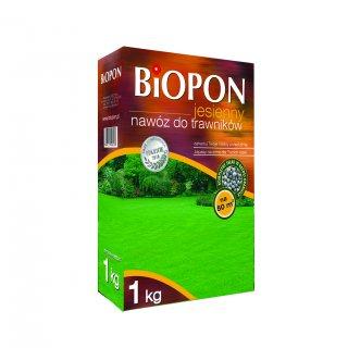 Nawóz jesienny do trawnika 1kg BIOPON