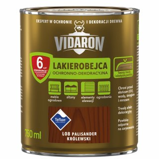 Lakierobejca do drewna palisander k. 0,75 L Vidaron ŚNIEŻKA