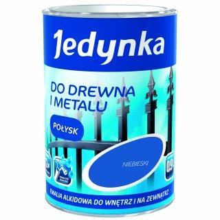 Farba do drewna i metalu Jedynka 0,9L niebieski TIKKURILA
