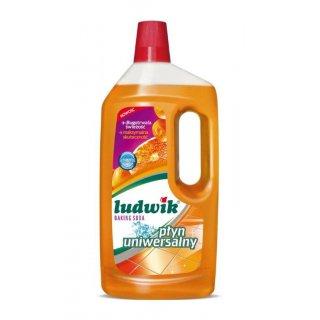 Uniwersalny płyn do mycia  baking soda 1L LUDWIK