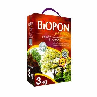 Nawóz jesienny uniwersalny 3kg BIOPON