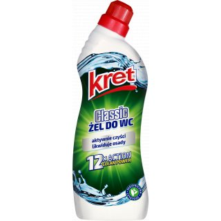 Żel do WC 750g Classic KRET