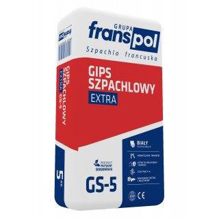 Gips szpachlowy 5 kg Extra Biały FRANS-POL