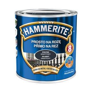 Farba na rdzę połysk grafitowy 0,7 L Hammerite AKZO