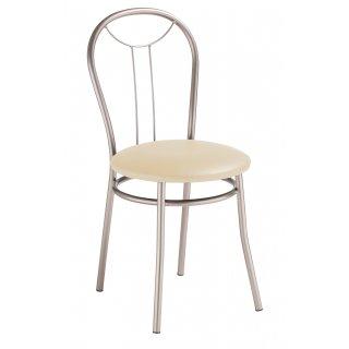 Krzesło kuchenne kremowe Selena silver NOWY STYL