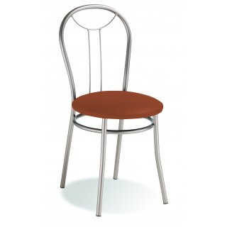 Krzesło kuchenne jasny brąz Selena silver NOWY STYL