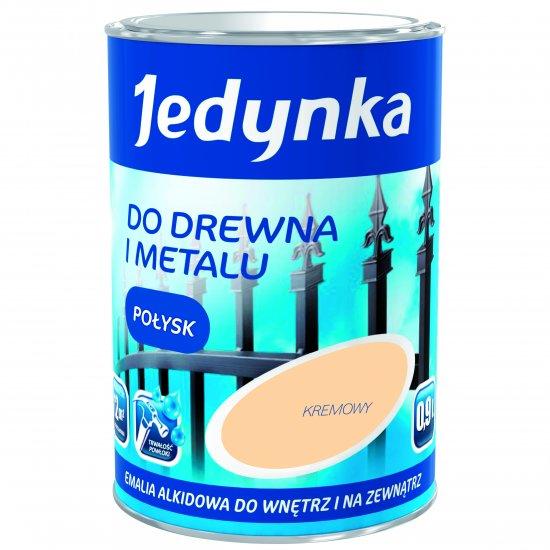 Farba do drewna i metalu Jedynka 0,9L kremowy TIKKURILA
