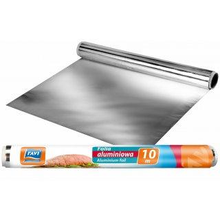 Folia aluminiowa 10mx30cm rolka RAVI