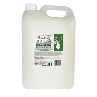 Mydło w płynie BIALY JELEŃ 5l