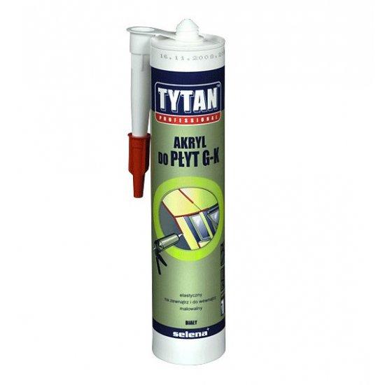 Akryl do płyt G-K Biały 310 ml TYTAN